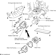 toyota previa remove water pump your owner manual