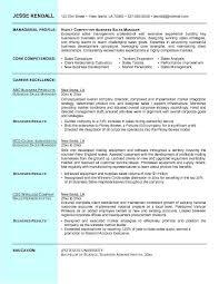 Inside Sales Resume Sample by Business Resume Business Resume Example Business Professional