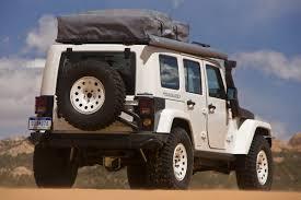 jeep wrangler overland tent sema u002709 mopar transforms jeep wrangler unlimited rubicon to a go