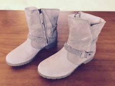womens desert boots size 11 s teva de la vina low boot suede 11 m desert taupe ebay