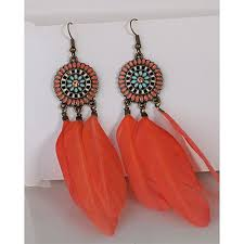 feather earrings online buy mart feather earrings online at best price in