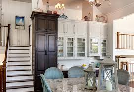 Beach Cottage Kitchen by Raised Panel Cabinets Kitchen Traditional With Beach H Beach House