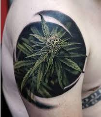 weed tattoo best 3d tattoo ideas pinterest onkruid 3d