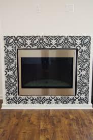 black and white patterned ceramic tile merola twenties mosaic