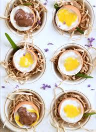 coconut easter eggs coconut custard eggs healthy easter treats sweetashoney