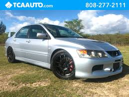 silver mitsubishi lancer 2006 used mitsubishi lancer 4dr sedan evolution ix manual at tca