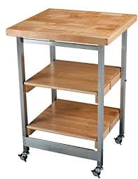 oasis island kitchen cart amazon com oasis concepts stainless steel wood folding kitchen