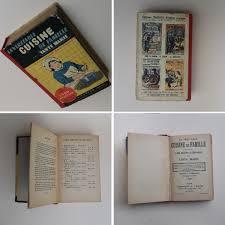 livre de cuisine ancien ancien livre de cuisine la véritable cuisine de famille par tante