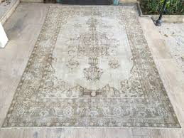 Shipping Rugs Free Shipping Large Oushak Rug 6 6x10 2ft Muted Color Rug