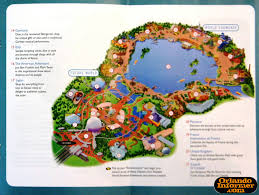 Universal Studios Map Orlando by 2011 Walt Disney World Vacation Brochure Let The Memories Begin