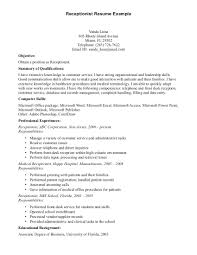 examples of cover letters for receptionist jobs law office front desk medical receptionist cover letter jobs