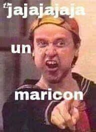 Maricon Meme - jajaja un maricon cosas graceosas pinterest memes