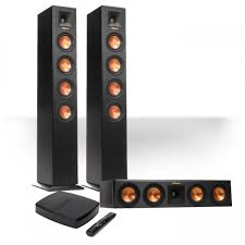home theater systems wireless klipsch reference premiere hd wireless 3 0 channel floorstanding