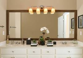 Large Framed Bathroom Mirror Create Magical Illusion With Large Bathroom Mirror The New Way