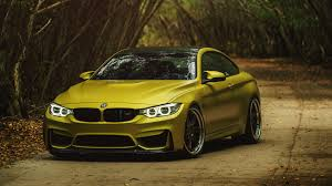 stanced bmw m4 bmw m4 yellow gold u2013 new cars gallery