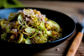 thanksgiving brussel sprout recipes apple salad with walnuts and brussels sprouts recipe nyt cooking