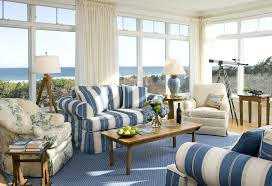 living room country living room style decoration colored sofa
