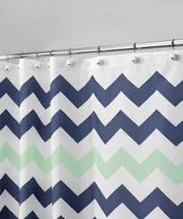 Mint Blue Curtains This Is A Mint Green Navy Blue And Gray Cotton Floral Drapery