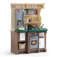 Step Two Play Kitchen by Step 2 Lifestyle Deluxe Plastic Play Kitchen Sets Best Wooden On