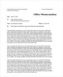 sample office memo templates 13 free documents dowload in pdf word