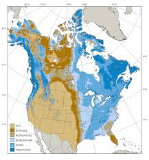 Climate Map Of North America by 6 Surface Water Balance North American Climate Integration And