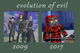 Anonymous Meme - mcsm2 evolution of evil meme by rr the anonymous on deviantart
