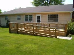 Wheelchair Ramp Handrails Creative Renovations Our Custom Wheelchair Ramps Lifts And