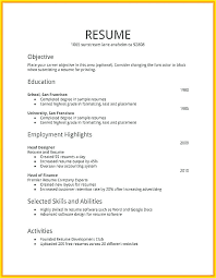 how to make a resume exles how to make a resume for a exle how to make resume for