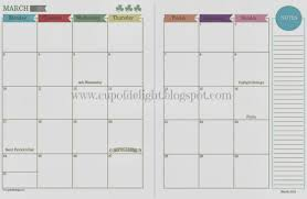 two page per month calendar template free 2017 calendar printable