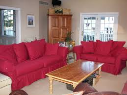 Red Sofa Slipcovers Replacement Slipcover Outlet Replacement Slipcovers For Famous
