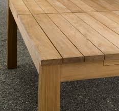 Building Outdoor Wood Table by 10 Easy Pieces Simple Wooden Outdoor Dining Tables Remodelista