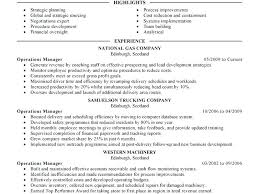 plant manager resume business operations manager resume objective plant description