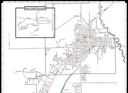 A Map Of Oregon by Welcome To The City Of Burns Burns City Map