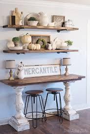 Kitchen Shelf Ideas Home Tour Farmhouse Style Decorating Open Shelving And