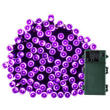 led fairy lights with timer 200 led 8 modes purple fairy lights with timer glowing starry string