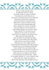 wedding shower poems thunder events the best bridal shower party
