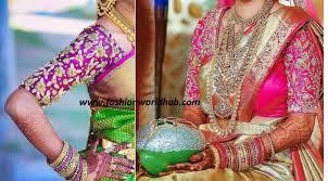 wedding blouses 10 designer wedding blouses for less than 5000 rs fashionworldhub