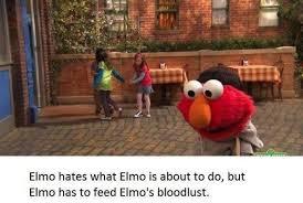 Elmo Meme - 42 dark sesame street memes that are more sesame alleyway