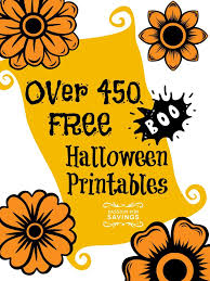 free halloween printables perfect crafts and activities for kids