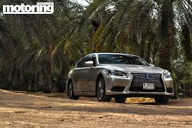 lexus dubai 2013 lexus ls 460l review motoring middle east car news