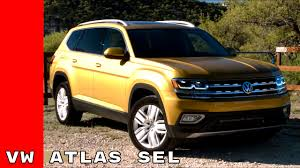 volkswagen atlas interior sunroof 2018 vw atlas sel starting at 39 160 youtube