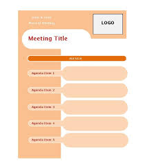 meeting agenda image titled write an agenda for a meeting step 3