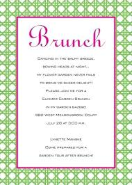 brunch party invitations bridal shower invitations brunch theme niengrangho info