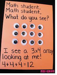 miss giraffe u0027s class how to teach arrays