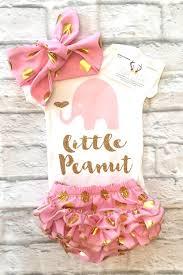 peanut baby shower baby girl clothes peanut baby onesie peanut