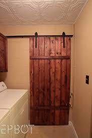 exterior sliding barn doors diy door for bathroom pole