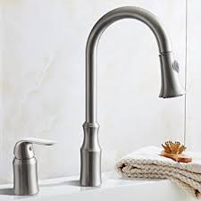 2 hole kitchen faucet kes brass pulldown kitchen faucet brushed nickel single handle 2