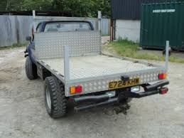 toyota hilux flat bed pick up 2 4d 1987 e registration long mot