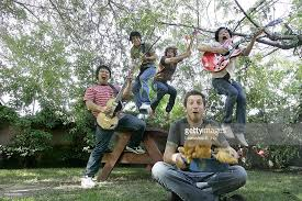 Bands In The Backyard by The Little One An Emerging Pop Band In Los Angeles Band Members
