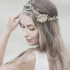 hair accessories wedding wedding hair accessories swarovski bridal headband gold forehead